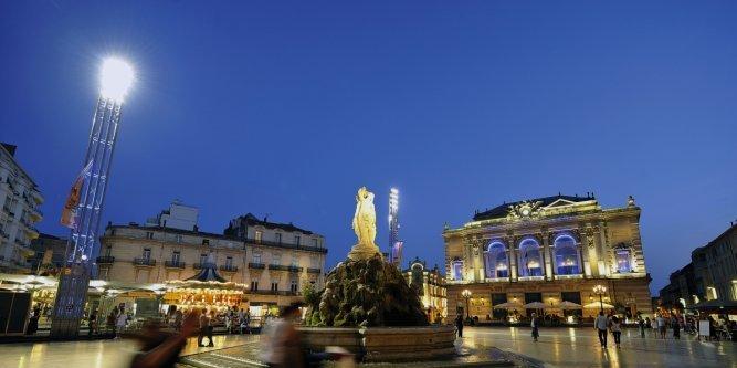 Balade originale à Montpellier…