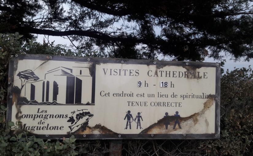 Maguelone et sa cathédrale romane fortifiée