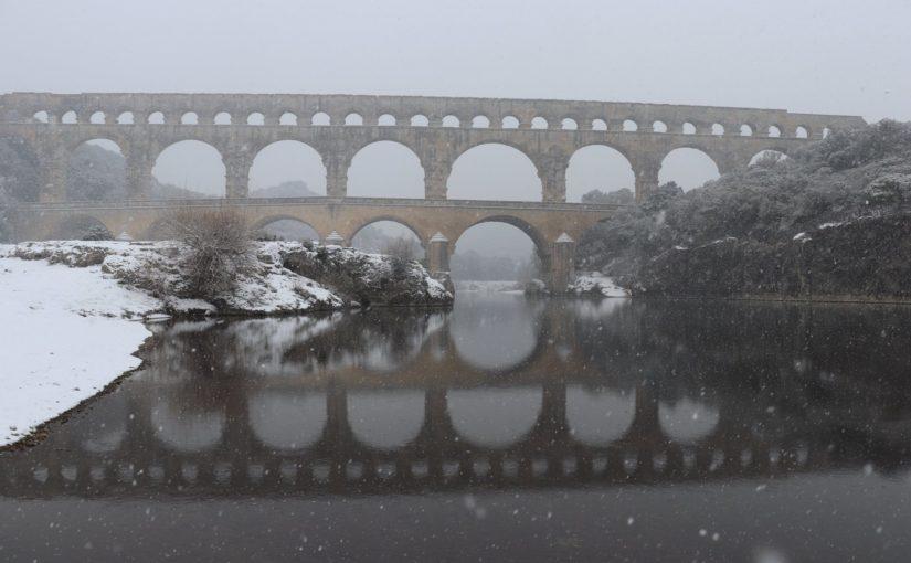 le génie romain : le Pont du Gard