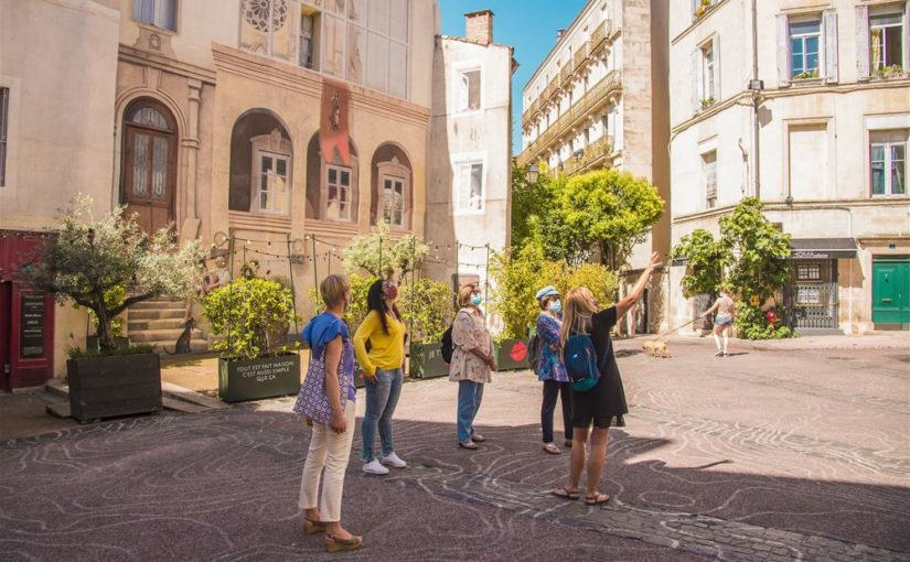 Visites masquées à Montpellier!