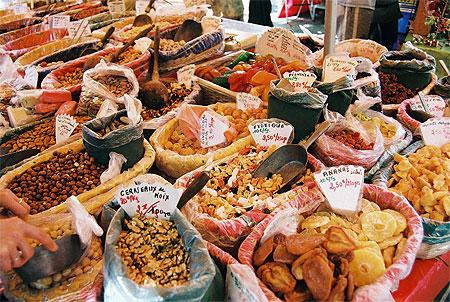 Balade gourmande  à Avignon, Provence