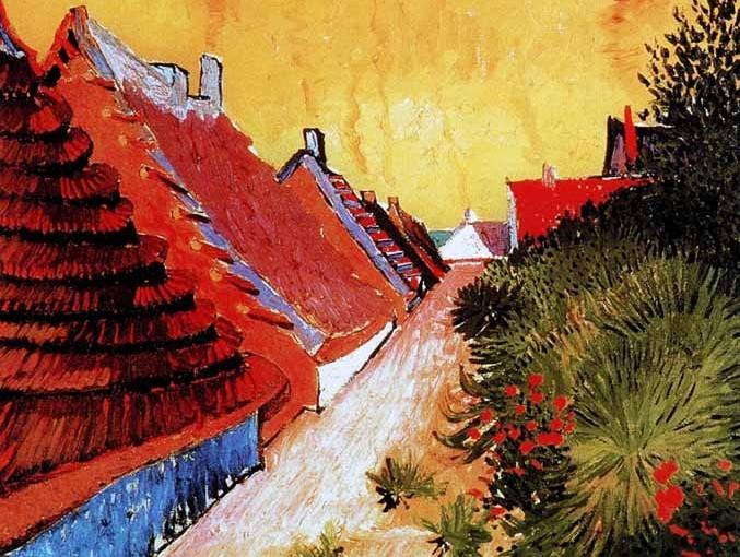 Van Gogh à la plage….suivons le!